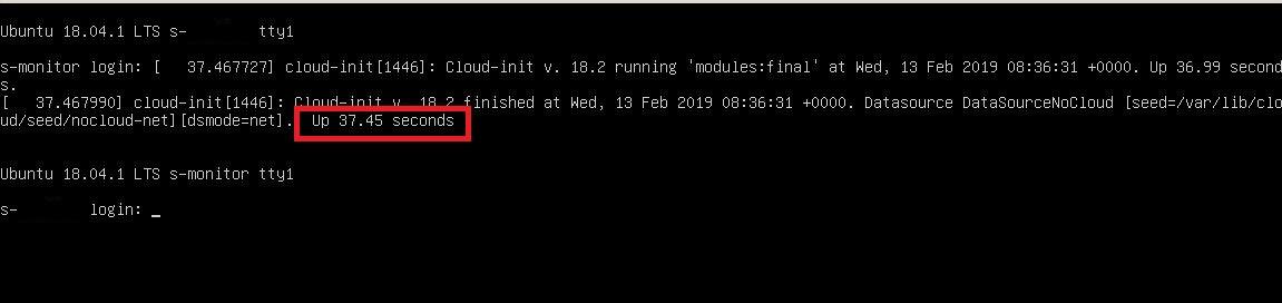 Ubuntu ошибка, успешная загрузка
